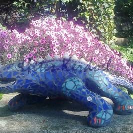 Iguane mosaïque
