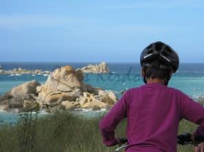 Balade en vélo sur la côte