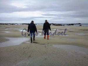 pèche à marée basse