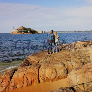 vue sur l'île Louet