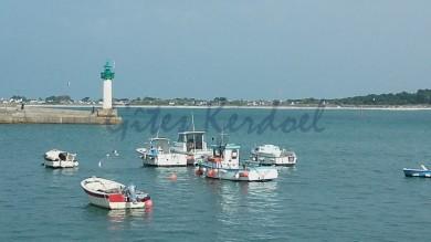 Le port de Moguériec à 2 km