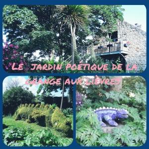 La Grange aux lièvres le jardin
