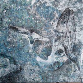 peinture de baleine