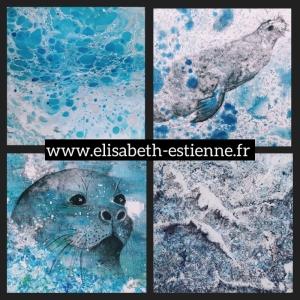 peintures d'océan