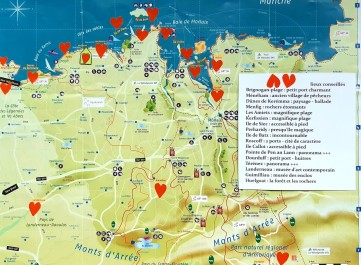 carte du Léon