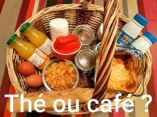 Panier du petit déjeuner Kerdoel
