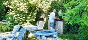 jardin et plancha